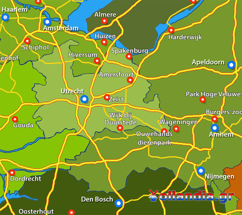 Utrecht Ουτρεχτη Ollandia